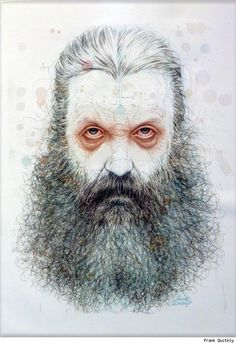 (5)Alan Moore by Frank Quitely.