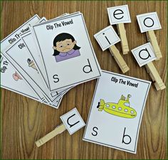 vowel sticks | ... learning those short vowel sounds. 50 colorful dominoes are included