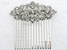 Wholesale Tiaras & Hair Accessories - Buy Jewelry Gift Clear Rhinestone Bride Bridesmaid Wedding Accessories Prom Party Sell Well Fashion Crystal Hair Comb L058 B, $3.39 | DHgate