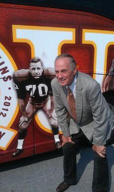 Twitter / Redskins: #Redskins legend Sam Huff
