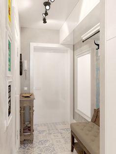 прихожая в дизайне маленькой квартиры-студии