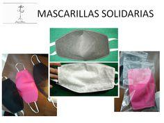 modo de realizar una mascarilla con tejido sanitario en el exterior y forro de Bandana, Crochet Slippers, Drawstring Backpack, Free Pattern, Sewing Projects, Scrapbook, Creative, Diy, Crafts