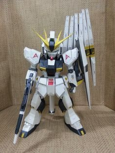 SD RX-93 v Gundam Ver. Evolve Papercraft by Rokkim7 9