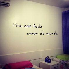 Amor sempre!