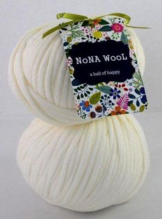 NoNA WooL Bamboo Pura Cream Wool, Cream, Bamboo, Custard, Sour Cream, Lotion