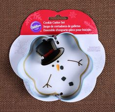 Melted Snowman Cookie Cutter
