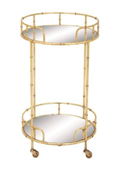 Metal & Mirror Bar Cart by UMA on @nordstrom_rack