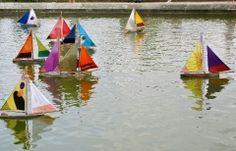 toy sailboats Paris
