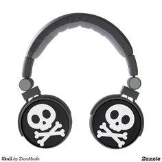 Skull Headphones | #zionmade