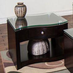Sunny Designs Espresso End Table