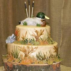 Duck cake!