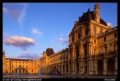 Denon Wing of the Louvre. Paris France