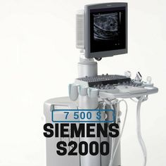 "For sale #ultrasound machine SIEMENS S2000. Do you weant to know more? Click ""contact seller"" button to send your request for more details. #probe #cardio #lineales #convexas #ecografía #sonographer #echo #convex #endocavity #linear #imaging #diagnostics #diagnostico #ecografista #sonda #transductor #sonogram #tecnicos #fisioinvasiva #ecógrafo"