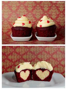 cupcake surprise, maybe for Valentine's Day <3