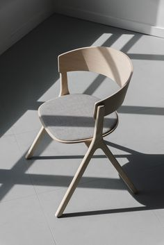 Circus Wood is a minimal chair by EDITS Design offering a new-century refresh to the archetypal mid-century Scandinavian wooden chair.