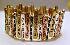 """Bracelet Inspirational """"Serenity"""" Jewelry"""