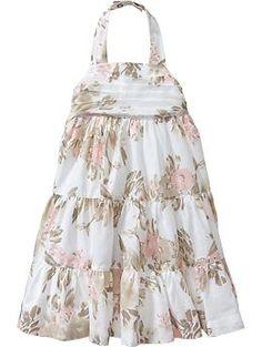 Floral Halter Dresses for Baby | Old Navy