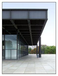 Ludwig Mies van der Rohe - Neue Nationalgalerie - Berlino