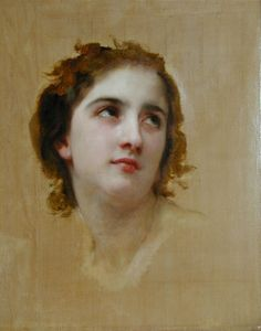 We ship William Adolphe Bouguereau Sketch of a Young Woman [detail] worldwide; the shipping fee is based at the country it will arrive.