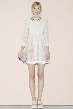 Desfila Red Valentino - New York Fashion Week 2015.