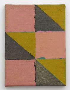 Joshua Abelow Untitled (Abstraction FE), 2010 Oil on burlap on canvas
