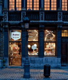 La Maison des Maîtres Chocolatiers, en Bruselas
