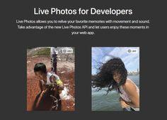 #Programación_y_Diseño #api #integración Apple lanza su API para que terceros integren las Live Photos en sus aplicaciones web