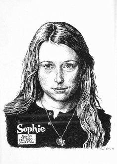 Robert R. Crumb and Aline Kominsky-Crumb's daughter Sophie