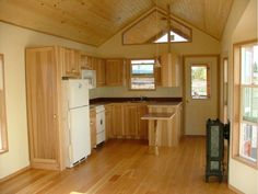watson II kitchen. Rich's Portable Cabins, North Powder, Ore