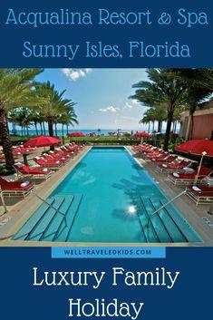 Acqualina Resort & Spa, Sunny Isles, Florida, USA | Miami Beaches | Luxury Family Vacation | Luxury Family Travel | #florida #luxury