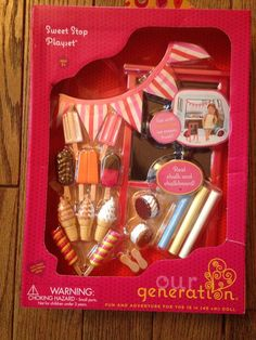"Our Generation Sweet Stop 18"" Doll Accessory Set Ice Cream Truck 4 American Girl #Battat #ClothingAccessories"