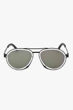 24844dd6c73 DAMIR DOMA Black Stainless Steel DD1.2 Mykita Edition Sunglasses Steampunk  Sunglasses