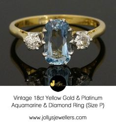 Aquamarine & diamonds?! Perfect.http://ow.ly/YZf2J  #LoveJewellery
