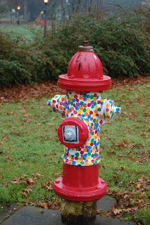 Painted Fire Hydrants | Gather