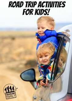 If you are planning a road trip soon, that means you're probably trying to figure out some road trip activities to keep the kids busy in the car for 14+ hours. We are driving halfway across the country this Summer, and here are some of the things we'll be doing to keep the kids active.   #roadtrip #travel #traveltips #travelblog #travelling #travelmore #familytravel