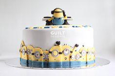 Minions by guiltdesserts @ CakesDecor.com - cake decorating website