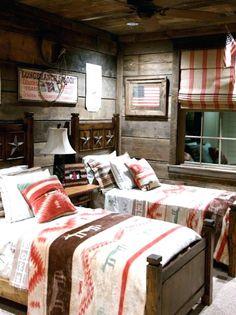 Western Themed Schlafzimmer