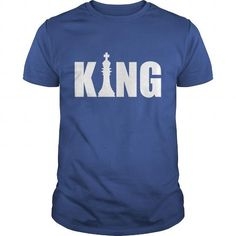 Chess King of the Game Logo T-Shirt