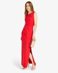 3607f6f4ab8eb Phase Eight Georgie Full Length Dress Red
