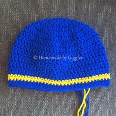 Chase Hat Inspired by Paw Patrol – Homemade by Giggles
