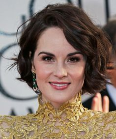 Prettiest Michelle Dockery's Textured Bob Hairstyles for Women to Look Inspiring This Year Prettiest Michelle Dockery's Textured Bob Hairstyles for Women to Look Inspiring This Year Cool Haircuts For Girls, Trendy Haircuts, Short Pixie Haircuts, Layered Haircuts, Michelle Dockery, Hairstyles Over 50, Hairstyles Haircuts, Short Hair Cuts For Women, Short Hairstyles For Women