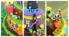 Scott's Willy Wonka Themed Party – Cake Details