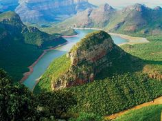 World's End, Blyde River Canyon ~ Sabie, Mpumalanga, South Africa....