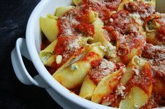 Ricotta Cheese Stuffed Shells - Weight Watchers