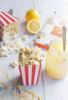 Lemon Meringue Gourmet Popcorn Recipe. Lemon Meringue Pie has never been so easy!