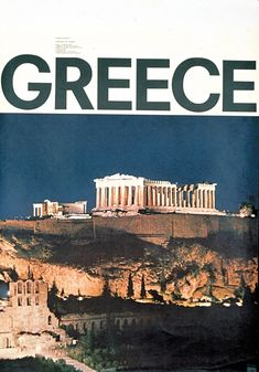 Athens Acropolis, Greece, Sound and Light Pageant 1963 N Mavroyenis Acropolis Greece, Athens Greece, Vintage Travel Posters, Months In A Year, Travel Destinations, Travel Photography, Beautiful Places, Places To Visit, Around The Worlds