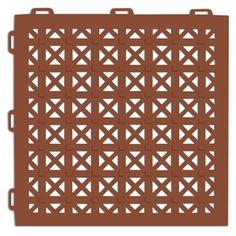 Aergo Flow - This non-slip flooring tile is a perforated 1x1 ft. modular tile that delivers traction and comfort on wet surfaces.  Great for patios, spas, pool surrounds, rooftops, decks, shower floors, and various industrial applications.  www.greatmats.com