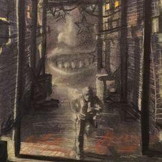 Alley, 2014, detail. #whataboutken #ken #foster #kenfoster #kenfosterartist #art #artist #artwork #artofinstagram #acrylic #spray #spraypaint #paint #painter #painting #alley #runner #gastown #gastownsfinest #vancity #vancouver #eastvan #dtes #street #streetart #streetartist #canada