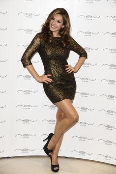 Kelly Brook New Look Store Lunch!