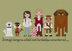 Looking for your next project? You're going to love Pixel People - Labyrinth by designer weelittlestitch. - via @Craftsy